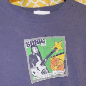 SONIC YOUTH  true vintage T